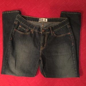 Levis Signature Ankle Skinny--High Rise Jeans EUC